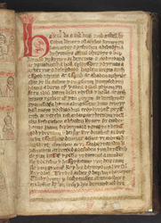 The Start Of The Text, In The Demetian Version Of 'The Law Of Hywel Dda'